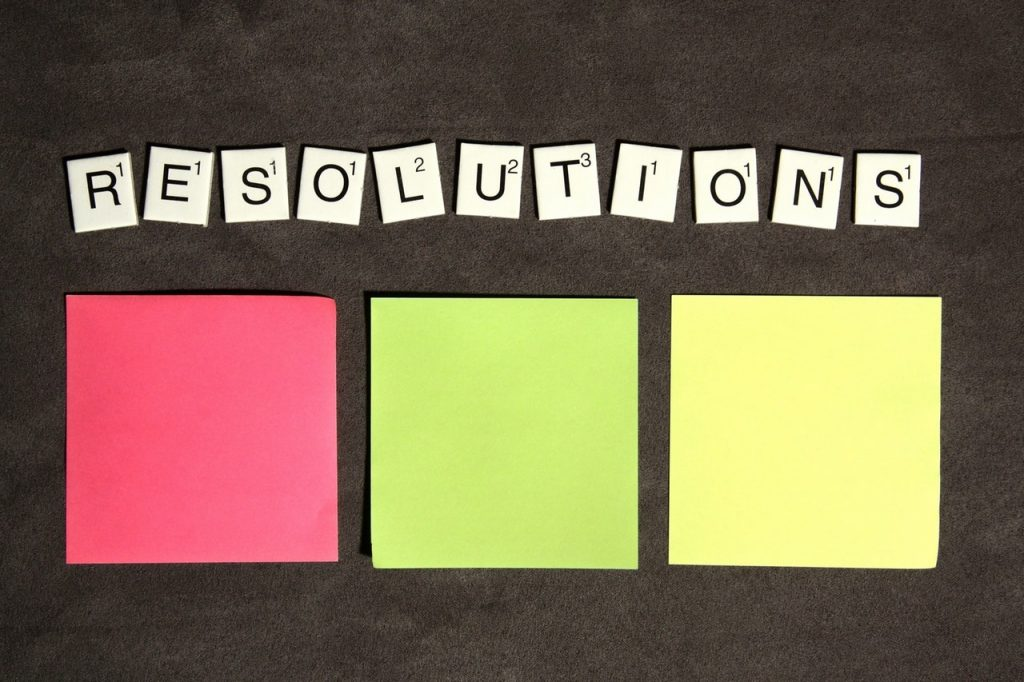 resolution writing tips